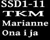 MARIANNE & TKM- ONA I JA