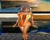Orange Flame Dress