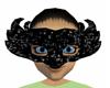 Black Sparkle Mask