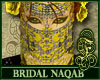 Bridal Naqab Yellow