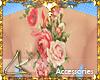 """LK"""" Floral TATTOO Back"""
