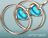 Summer Earrings Blue