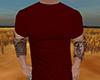 DRV Dark Red T-Shirt (M)