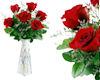 !Red Roses in vase
