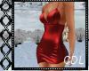 !C* Classy Red Dress