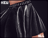 ʞ-Zodiac Leather Skirt!