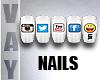 ✔| Social Media Nail 2
