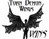 [VAN] torn demon wings