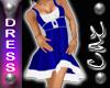 |CAZ| Xmas Dress Blue