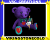 Teddy Bear Purple (H)