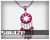 Takeo Pink Necklace