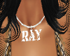 Ray Name Necklace