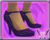*EVE* Purple Cover Heels