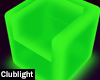 Green LED Chair