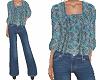 TF* BOHO Top & Jeans 2