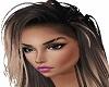Female Head Cut Eyebrows