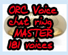 !ORC! Master Male voice