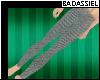 `B Gray Denim Leggings