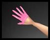 PVC Lust Gloves Pink