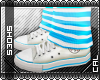 [c] Shoes: Chucks Blue