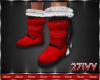 IV.Santa Fur Boots