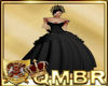 QMBR Black Cinders Gown
