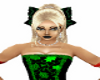 green Mika bow