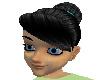 tinkerbell black hair