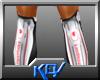 [KEV] Kicker Socks+Pads