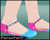 P|Floral Sandals