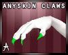 Anyskin Green claws