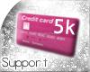 [T] 5k Support Sticker