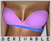 0 | Strap Bikini Top | 2