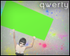 !Q! Green Sign 2