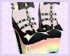 O ┊ Black pastel heels