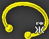 Neon bracelet yellow