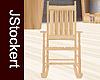 JS Wooden Rocking Chair