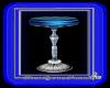 Blue bar stool