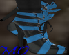 *MS*AnkleBootsBlue&Blk