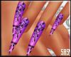 SAS- Nails Lace Purple