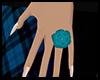 [E] Blue Rose Ring