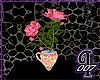 [I] Pink Rose in TeaCup