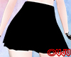 Dark Black Skirt F
