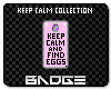 Find Eggs BADGE