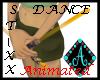 {Ama Dance Sticks golden