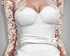 D. Fishtail Dress White