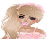 Kid Pink HeadBandHairBld