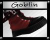 !G Biker Boot Red