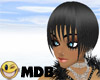 ~MDB~ BLACK FATE HAIR