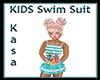 KIDS Seahorse Swim Suit